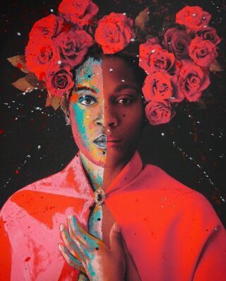 """This work by @faresmicuephotography feels so incredibly timely and needed.   We were introduced to her work by a friend @birdfaceblonde and are infinitely compelled by the way she combines her photography with colors and props (especially flowers) to convey and elicit a range of emotion.   This self-taught, self-portrait photographer from Spain describes her work as """"full of symbolism... every element has a purpose.... and by combining them I can transform my ideas into images.  """"I want my images to give hope and teach people to appreciate themselves, to love, dream, and believe that everything is possible if we believe it is.""""  👏 👏 👏   You can see more of her work @saatchiart. We are sharing what moved us, from left to right. 👈  Encourage you to give her a follow. 👆   🌹 The Queen of Lonely Hearts (mixed media, 2021): A collab between @faresmicuephotograph X the French painter @bazevian  🌹Memoirs of the Journey (2021)  🌹The Work Starts Inside (2021)  The Flowry connects flower lovers with eco-conscious florists prioritizing American grown, seasonal flowers & sustainable design practices. Plus, a curated marketplace of floral fashion, home decor, art, gifts & more.   Visit our website (link in bio) 👆 for your next floral giving occasion.  #fineartphotography #portraitphotography #portrait #conceptualart #mixedmedia #photography #design #interiordesign #artcollectors #artgallery #artforsale #art #artwork #artful #originalart #contemporaryart #modernart #artforyourhome #artoftheday #botanicalart #flowers #instaart #artofinstagram  #positivity #thingsilove #loveflowers #bloomdoodles  #lifelessons #theflowry """