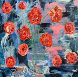 This first-generation American of Cuban and Argentinian descent @monicashulman paints using an impasto technique, which creates a heavily thick, almost sculptural quality on the canvas. While Shulman tackles a broad range of subjects, we're especially drawn to her abstract depictions of flowers, especially in her striking peony series.  The Flowry connects flower lovers with eco-conscious florists prioritizing American grown, seasonal flowers & and sustainable design practices. Plus, a curated marketplace of floral fashion, home decor, art, gifts & more.   Visit our website (link in bio) 👆  for your next floral gifting occasion.  #artweheart #monicashulmanstudio #hudsonvalleyartist #emergingartist #mixedmedia #painting #design #botanicalart #artstudio #fineart #artloversart #artforsale #art #artwork #artful #originalart #modernart #contemporaryart #artforyourhome #artoftheday #instaart #artofinstagram #positivity #thingsilove #loveflowers #bloomdoodles #create #theflowry 
